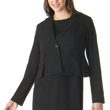 Darted Suit Jacket ($30)