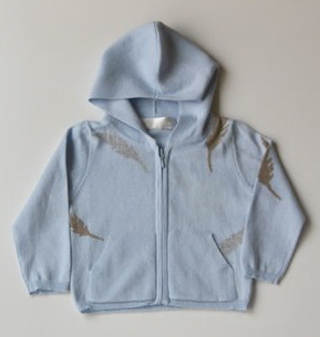Blue Feather Hoodie ($65)