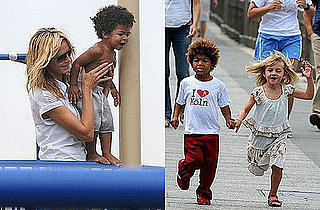 Interview with Heidi Klum: She Can't Get Enough of Her Kids