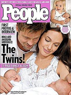 Sneak Peek at the Jolie-Pitt Twins!