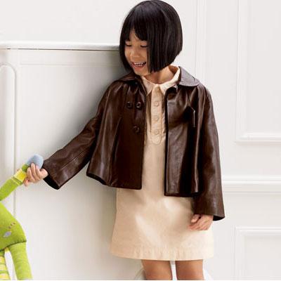 Chloe Leather Swing Jacket ($866)