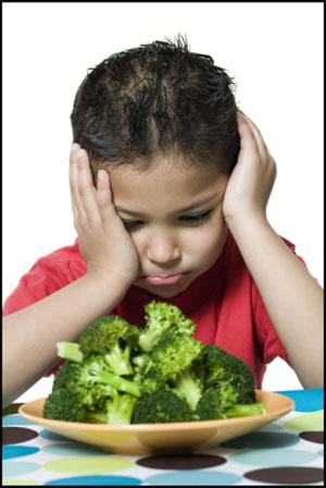 Dr. Brazelton Says Forget Vegetables