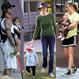 Celebrities and Their Babies Over the Weekend 2008-09-22 18:29:31