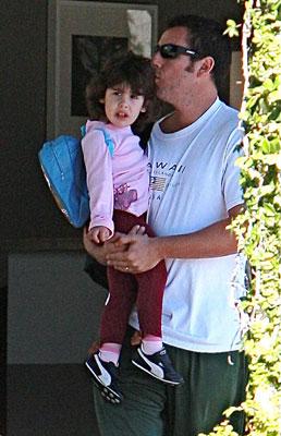 Papa Adam Steals a Kiss From Sadie