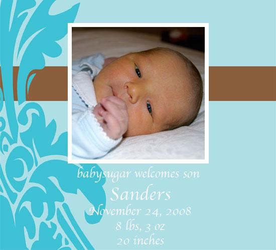 Lil Links: babysugar Had a Baby Boy!
