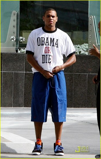Chris Brown: Obama Or Die!