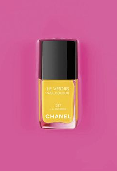 Chanel North Robertson Store California Nail Lacquer and Polish Collection