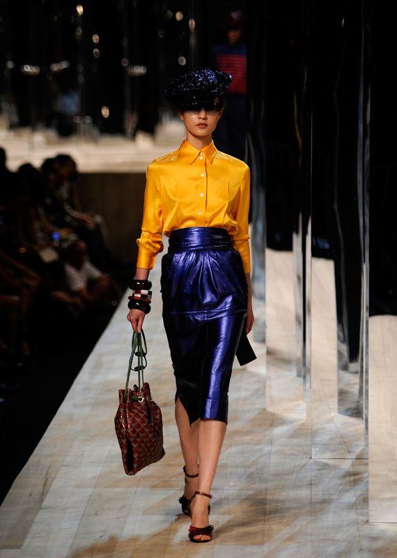 New York Spring 2009 Trend Report: Shine