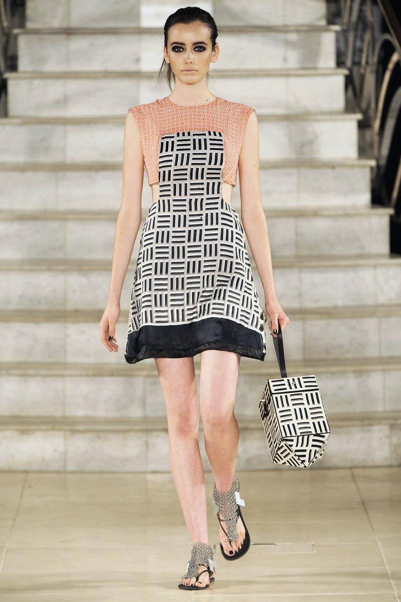London Fashion Week: Louise Gray Spring 2009