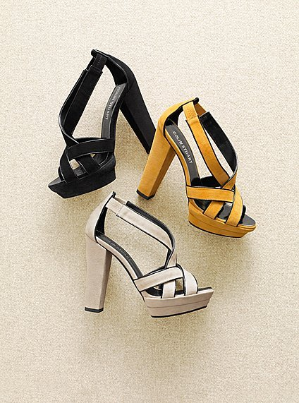 Multi-Strap Platform Sandal $45, Victoria's Secret