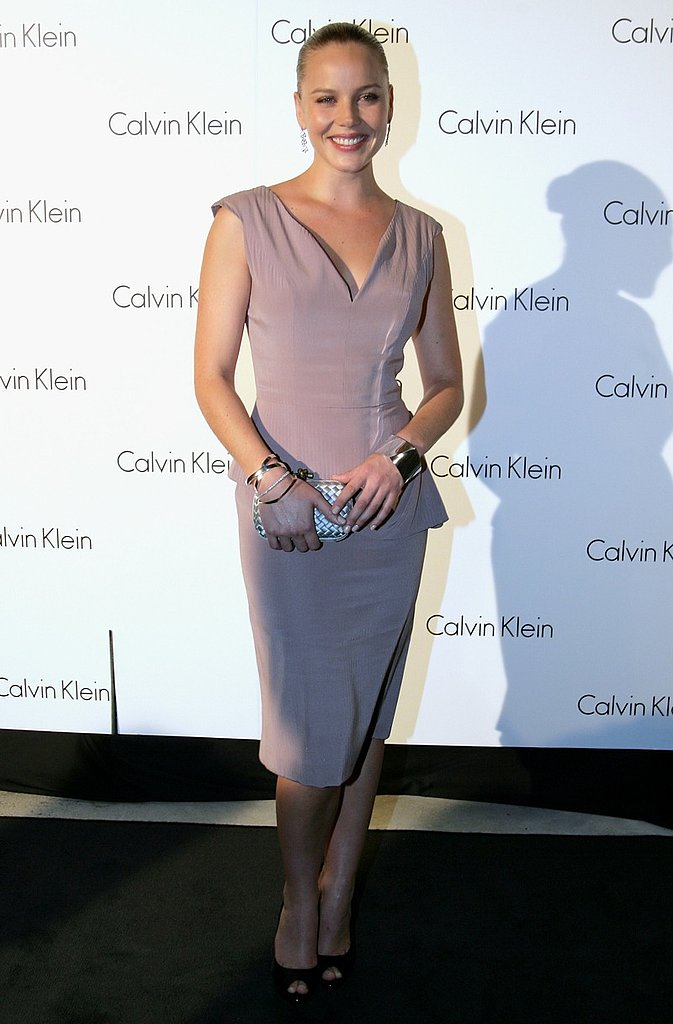 Actress and hostess Abbie Cornish