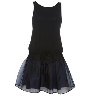 Organza Hem Dress $90 @ Topshop