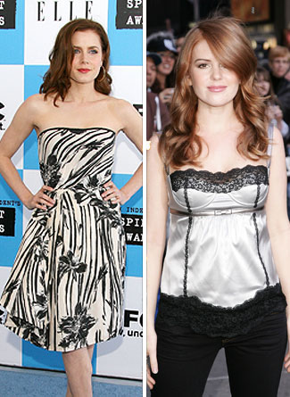 Amy Adams and Isla Fisher - Seperated At Birth?