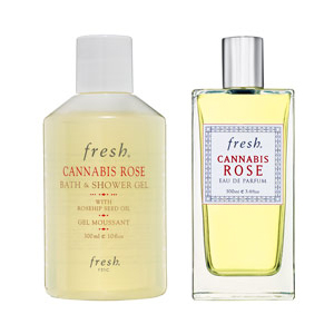 Saturday Giveaway! Fresh Cannabis Rose EDP and Bath and Shower Gel