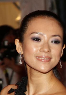 Ziyi Zhang at the Costume Institute Gala