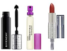 Tuesday Giveaway! Givenchy Phenomen'eyes Mascara, Rouge Interdit Shine Lipstick, and Very Irrestistible Givenchy to Go