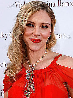 Scarlett Johansson's Red Lips