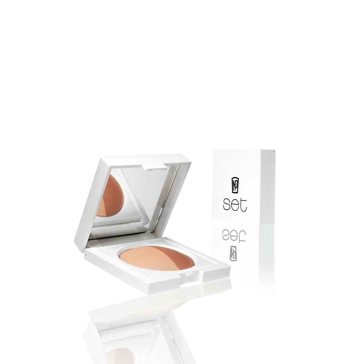 NP Set Baked Powder ($20) — a highlighter and blush with antioxidants.  Nice!