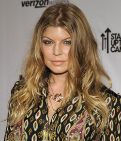 Fergie at Fashion Rocks: Hair and Makeup