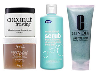 Beauty Mark It Reminder: Body Scrubs