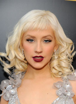 Christina Aguilera at the 2008 American Music Awards