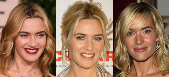 Kate Winslet's Hair and Makeup at The Reader New York City Premiere