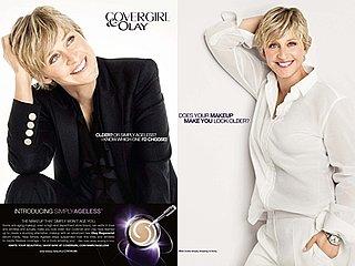 Ellen DeGeneres for Cover Girl