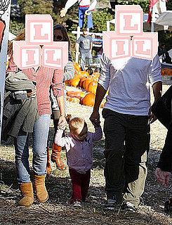 Which Celeb Parents Visit the Pumpkin Patch?