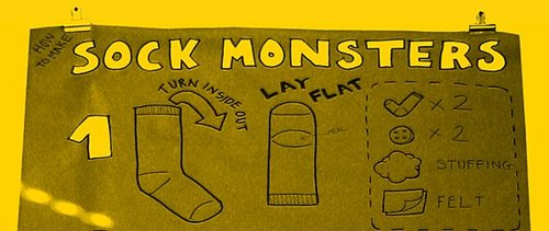 Make a Sock Monster!