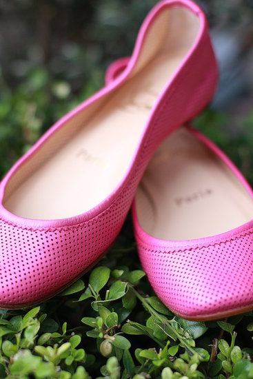 Pink Louby Flats