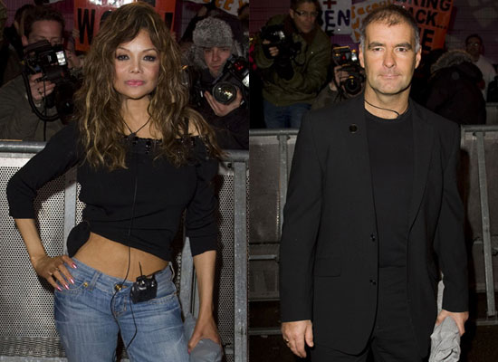 Photos of La Toya Jackson and Tommy Sheridan Who Were Fourth and Fifth Housemates to Be Evicted From Celebrity Big Brother House