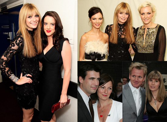 Mischa Barton, Michelle Ryan, Gordon Ramsay and Davina McCall at Britain's Best Awards