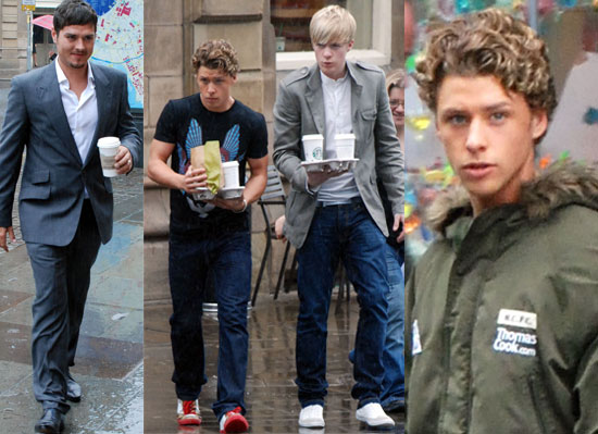Photos Of The Cast Of New ITV Musical Drama Britannia High Featuring Mitch Hewer and Guest Star Matt Willis