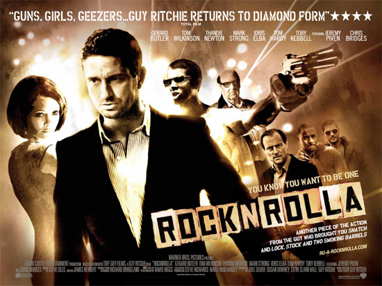 Win a Pair Of Exclusive Tickets To RocknRolla!!