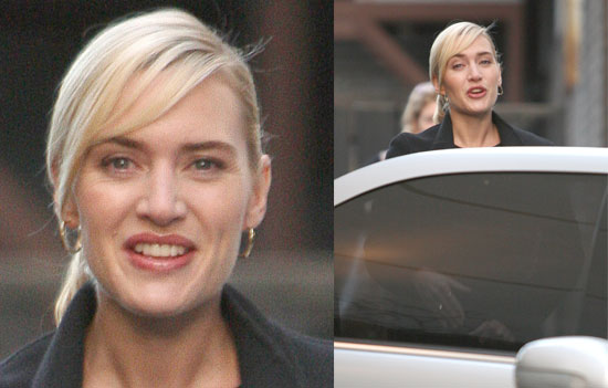 Photos Of Kate Winslet At GMTV Studios, Ahead Of The Release Of The Reader And Revolutionary Road