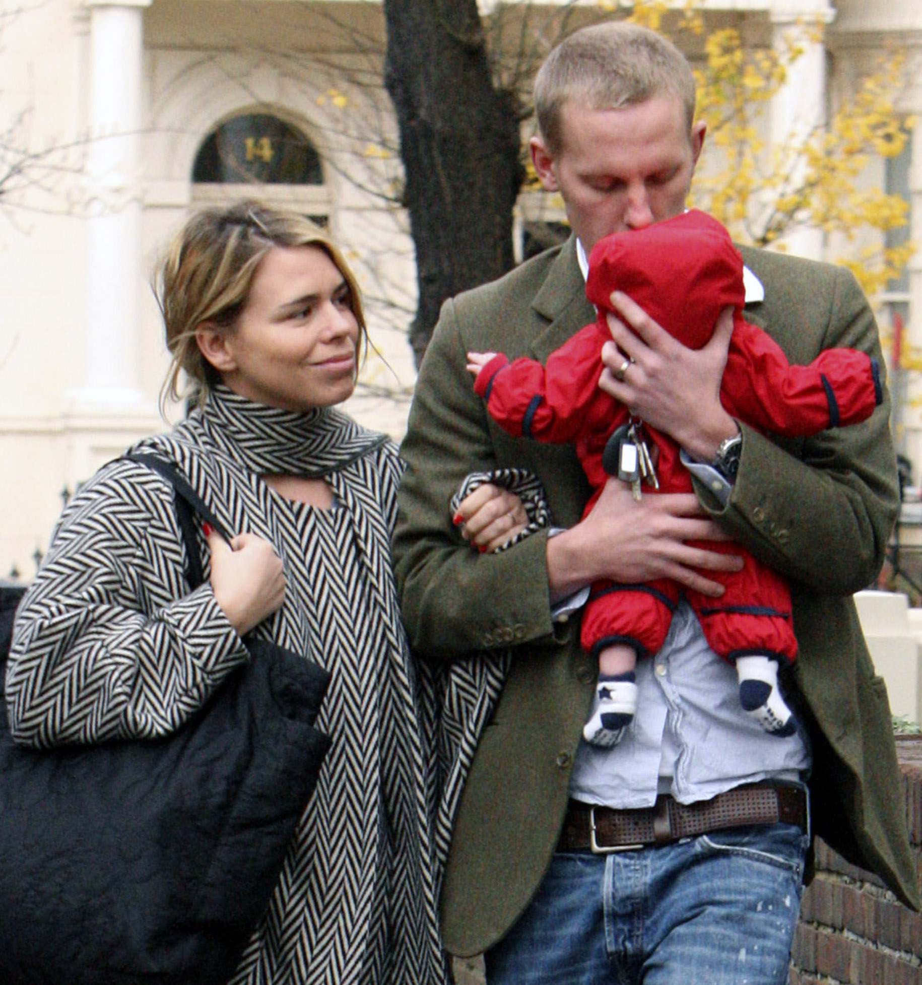 Photo of Billie Piper & her Son  Winston James Fox