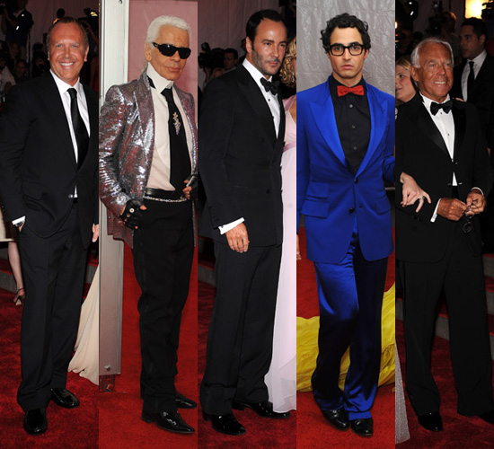 Met Costume Institute Gala: Male Designers