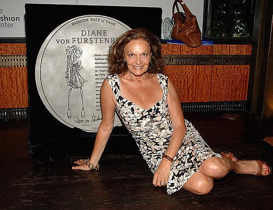 Diane Von Furstenberg and Liz Claiborne Added to Fashion Walk of Fame