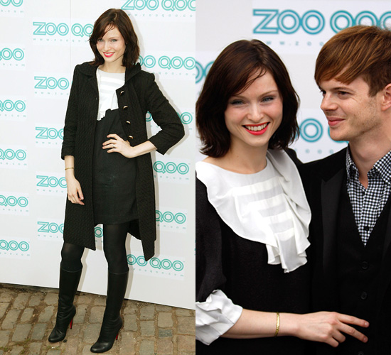 Sophie Ellis Bextor Christian Louboutin Boots Dress Philip Lim