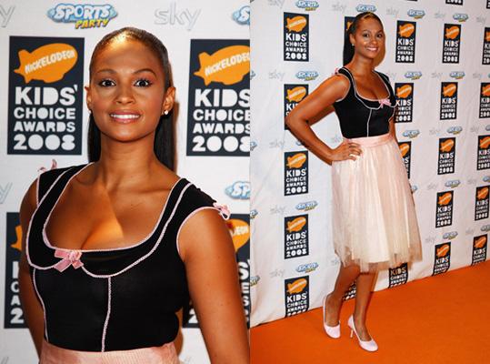 2008 Nickelodeon UK Kids' Choice Awards: Alesha Dixon