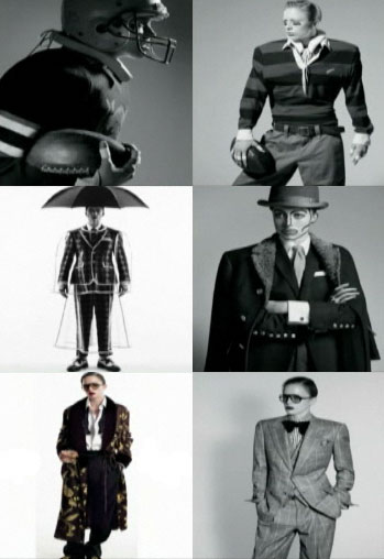 Menswear Designer of the Year Nominees, top to bottom: 