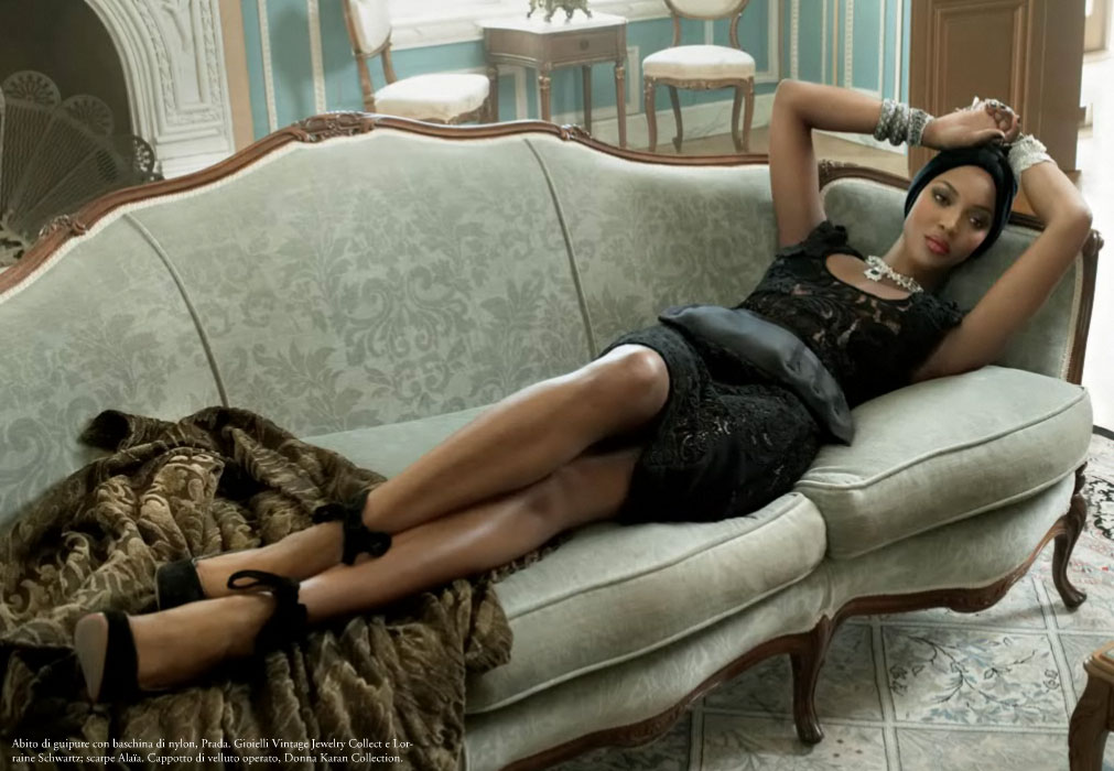 Naomi Campbell, Sessilee Lopez's Vogue Italia Editorials Come Out of Hiding