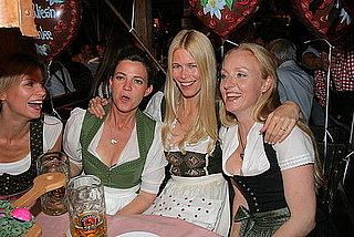 Claudia Schiffer Kicks Up Her German Heels