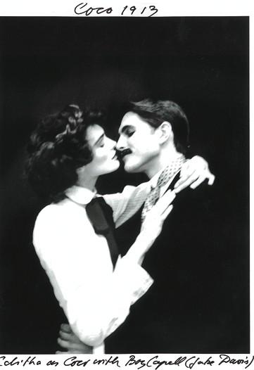 Edita Vilkeviciute as Coco Chanel in 1913 with Boy Capel.