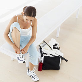 Fit Tip: Put Waiting Time to Good Use