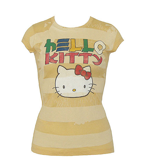 Mighty Fine T-Shirts - Hello Kitty Tess by Animation Shops~Hello Kitty Tokyo Junior Tee
