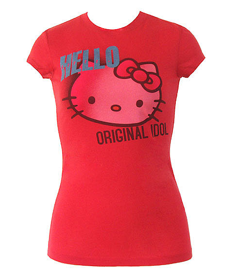 Mighty Fine T-Shirts - Hello Kitty Tess by Animation Shops