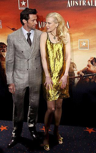 "Nicole && Keith @ Madrid ""Australia"" Premiere"