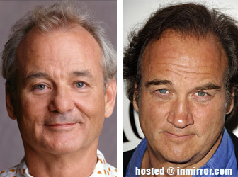 Bill Murray and James Belushi