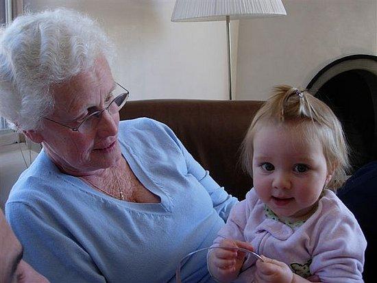 Oma and I got to bond big time.